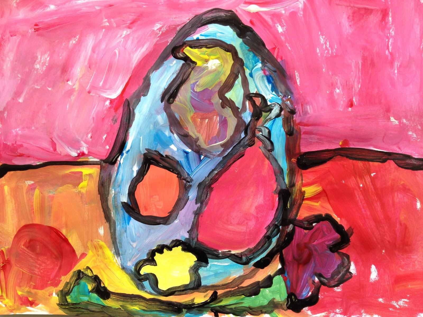 Cezanne Inspired Still Life