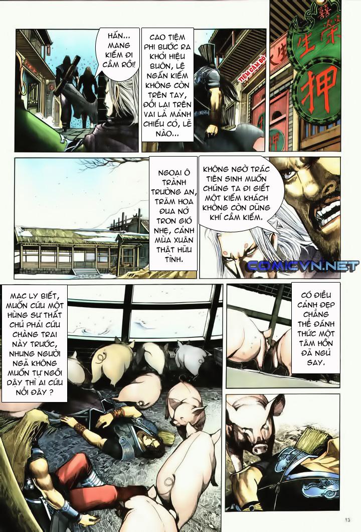 Anh hùng vô lệ Chap 10 trang 10