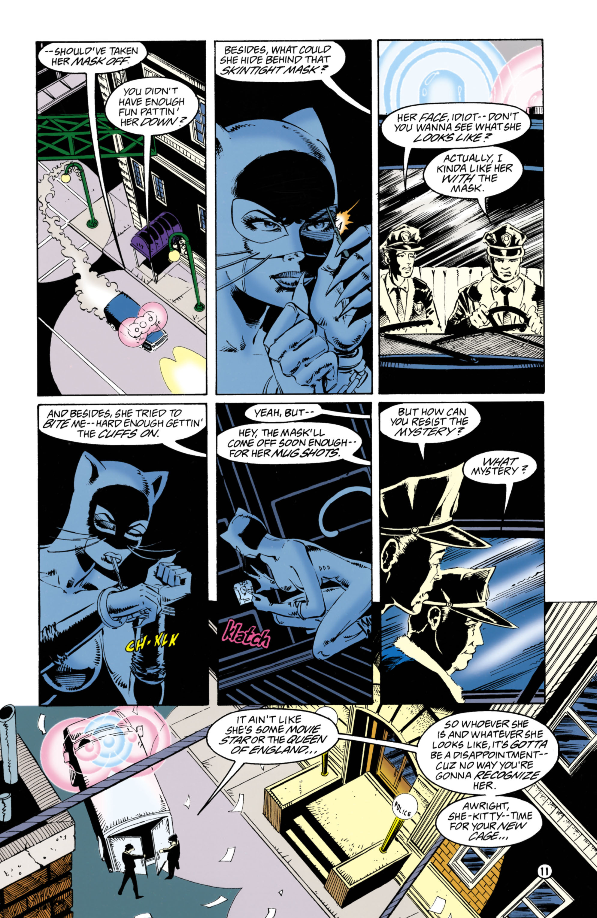 Catwoman (1993) Issue #38 #43 - English 12
