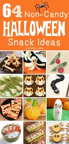 listotic healthy halloween ideas