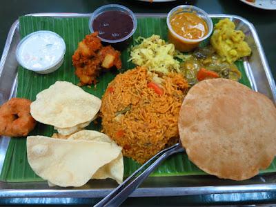 Ananda Bhavan, vegetable briyani