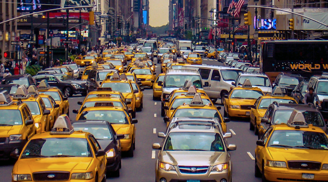 Ride-Sharing Vehicles Are Making NYC Congestion Worse, Report Says