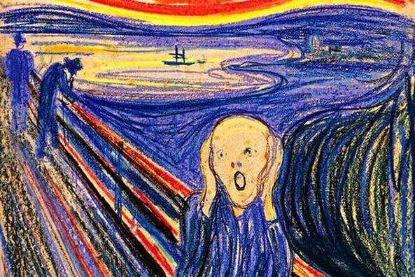 Lukisan Sederhana Orang Menjerit ini Harganya 1 Triliun. Ternyata ini Keistimewaannya!