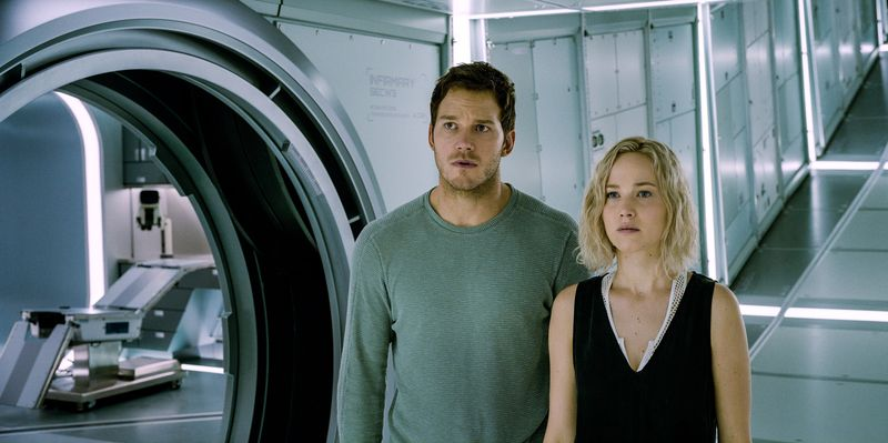 Passengers Chris Pratt Jennifer Lawrence