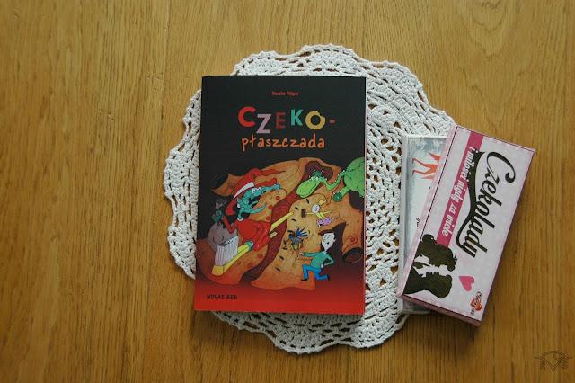 jaka książka fantastyczna dla dzieci? książki dla dzieci czeko-płaszczada Beata filipp novae res