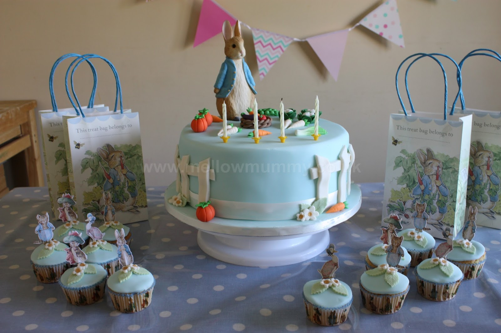 Mellow Mummy The Peter Rabbit Birthday Cake Taking Life As It