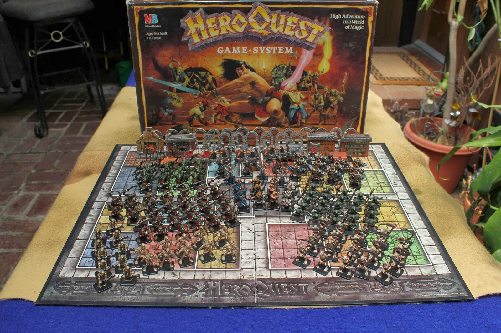 The Wertzone: HERO QUEST returns