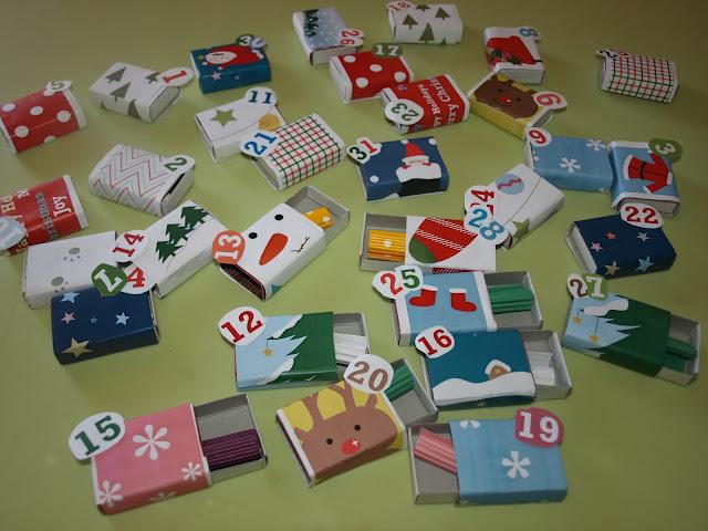 advent calendar ή ''ημερολόγιο αντίστροφης μέτρησης''