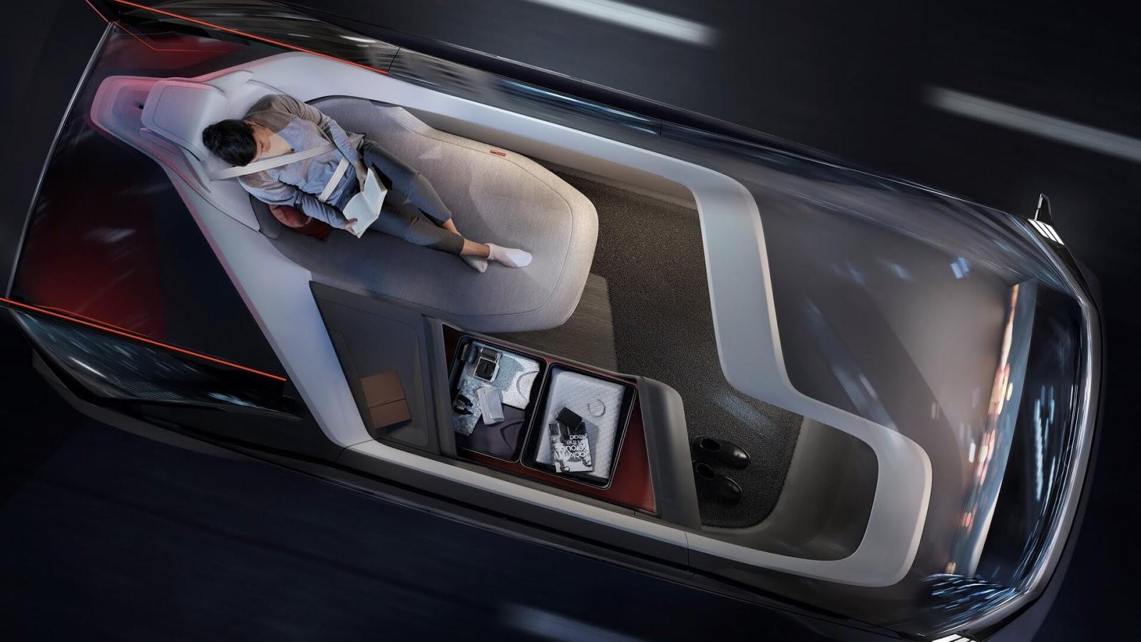 Volvo's 360c Autonomous Concept