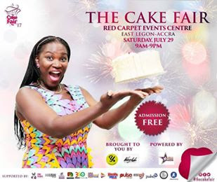 24 Days Left To The 2017 Cake Fair