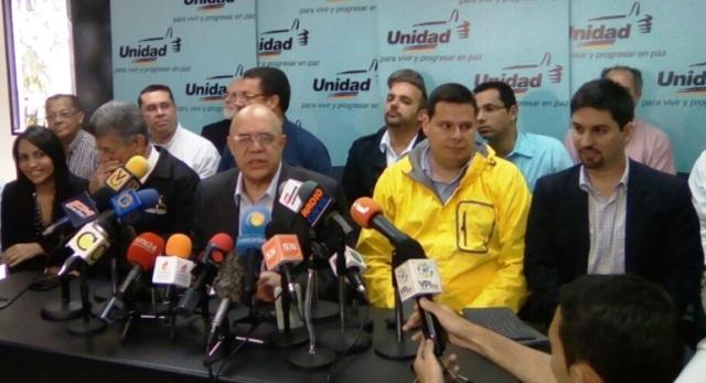 MUD eliminó figura de secretario y reformó su estructura