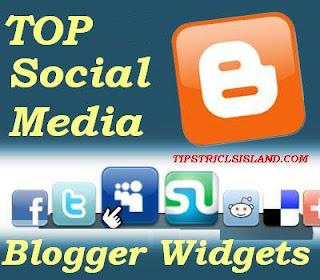 top ten social media widgets for blogger