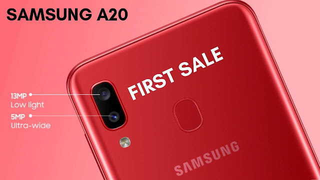 Samsung Galaxy A20 is now available for purchase in India | Easy EMI Option Rs. 1,388 per Month