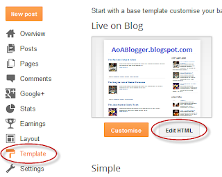 show blogger images only in homepage and remove from post page