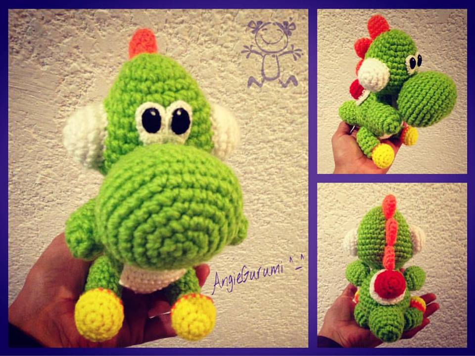 Free pattern on Ravelry called Mini Yoshi Friend by Mary Smith ... | 720x960