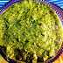 Fresh green garlic chutney