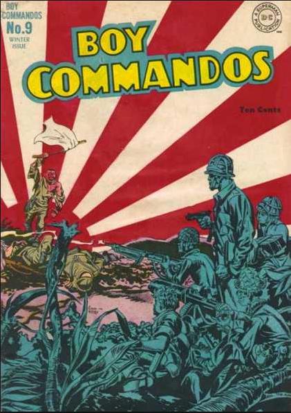 Boy Commandos JackKirby