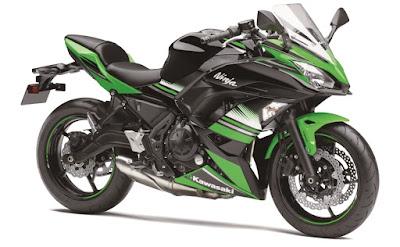 2017 Kawasaki Ninja 650 ABS KRT Edition Version