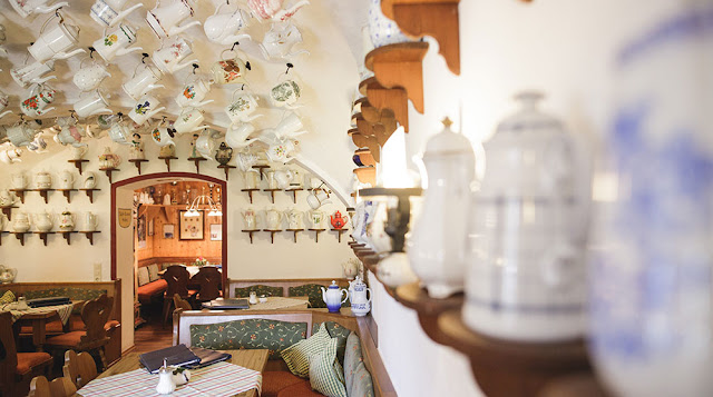 Urige Räume im Kaffeehaus