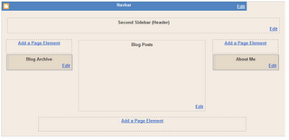 How to add sidebar to blogger blog?