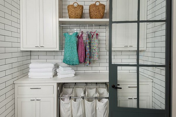 Creative Laundry Rooms Decor Ideas - Room Organization Ideas 5