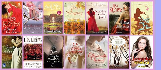 portadas del libro Sucedió en otoño, de Lisa Kleypas