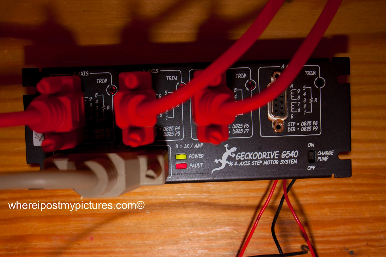 Usb Armpod Pinout For Gecko G540 Controller Campod Breakout Board Cnc Machine Control Limit Switch Wiring