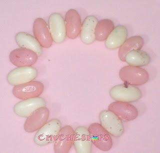 pulsera perlas de chuches