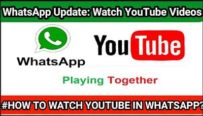 Update WhatsApp di iOS memungkinkan pengguna memutar video YouTube di dalam aplikasi