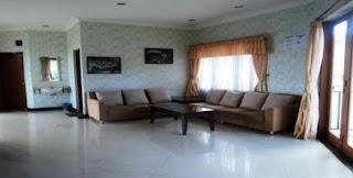 Tampilan Lantai 2 di villa agape