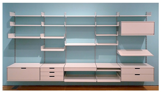Six shelving systems for your home