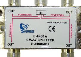Splitter VHF,UHF, dan Parabola
