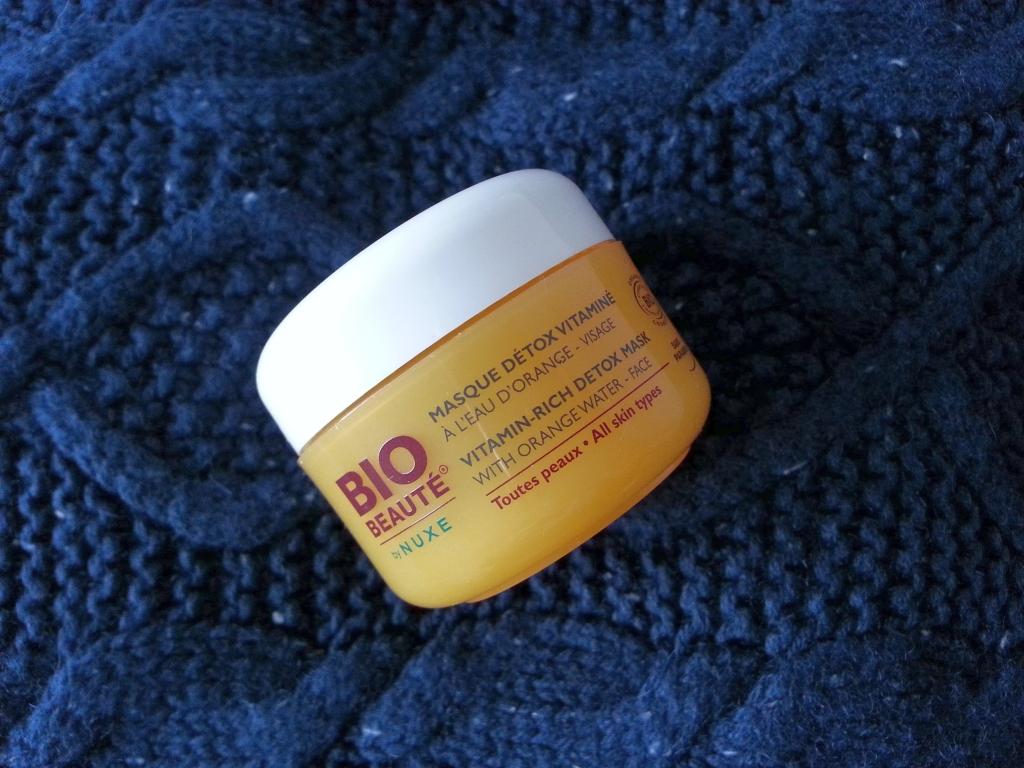 masque détox vitaminé biobeauté de nuxe