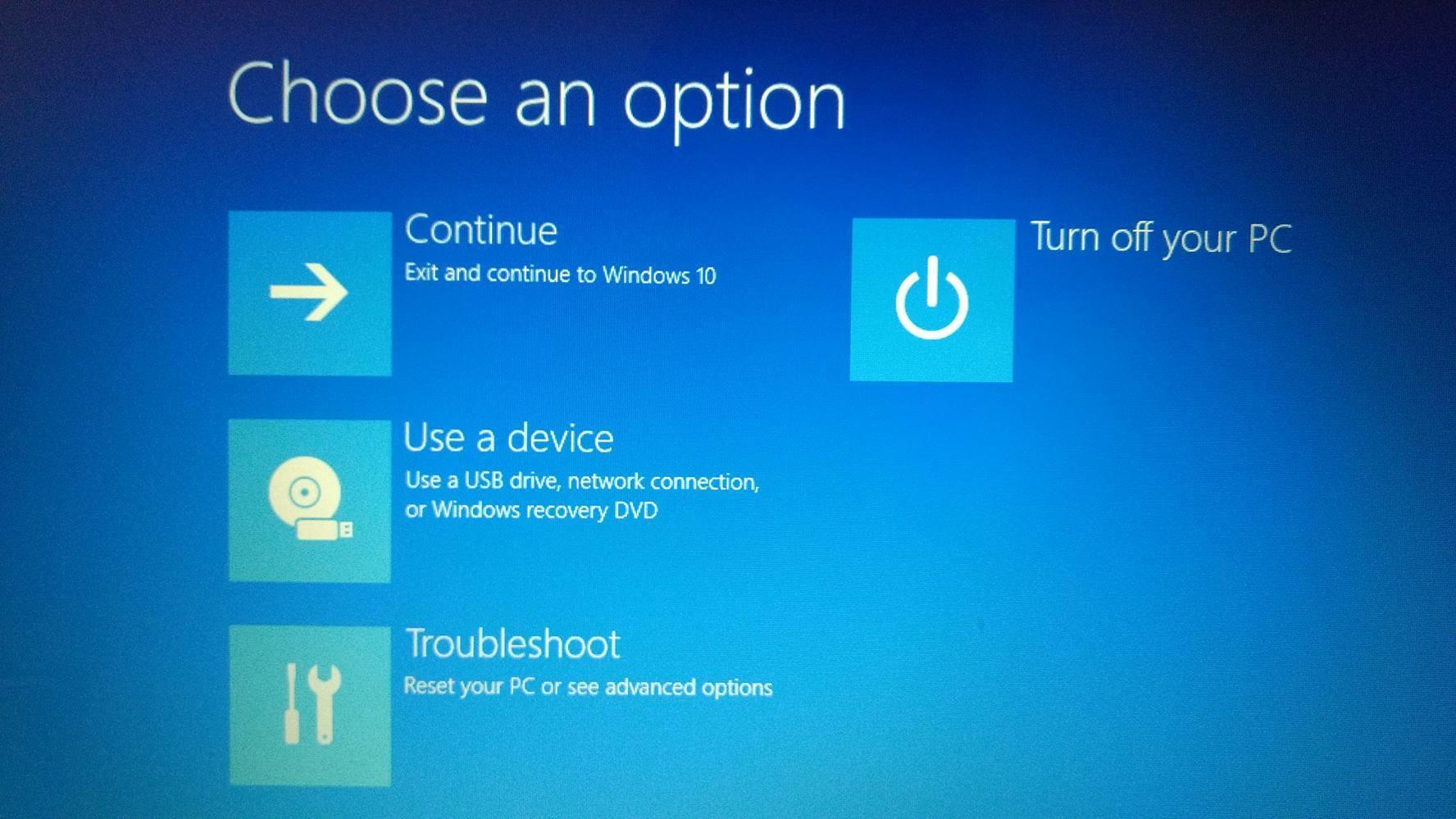 desactivar uefi en windows 10