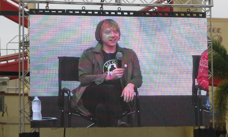 Rupert Grint A Celebration of Harry Potter 2016