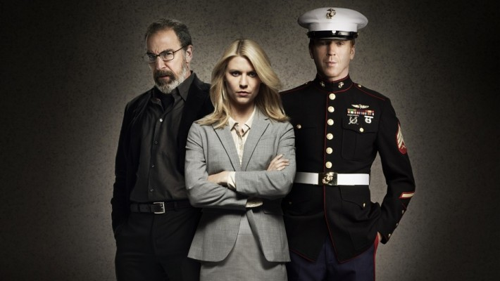 Claire Danes, Mandy Patinkin y Damian Lewis protagonizan Homeland