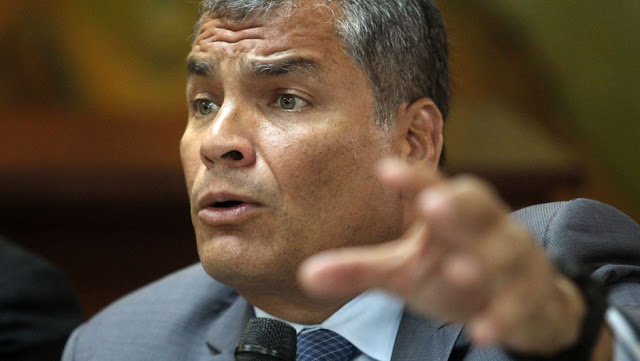 Interpol rechaza difusión roja contra Rafael Correa