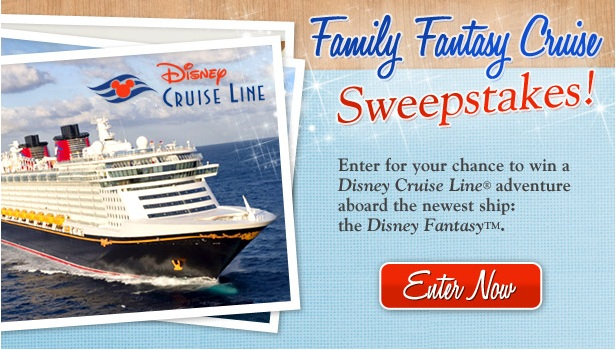 DISNEY WORLD FAMILY CRUISE GIVEAWAY ON FACEBOOK