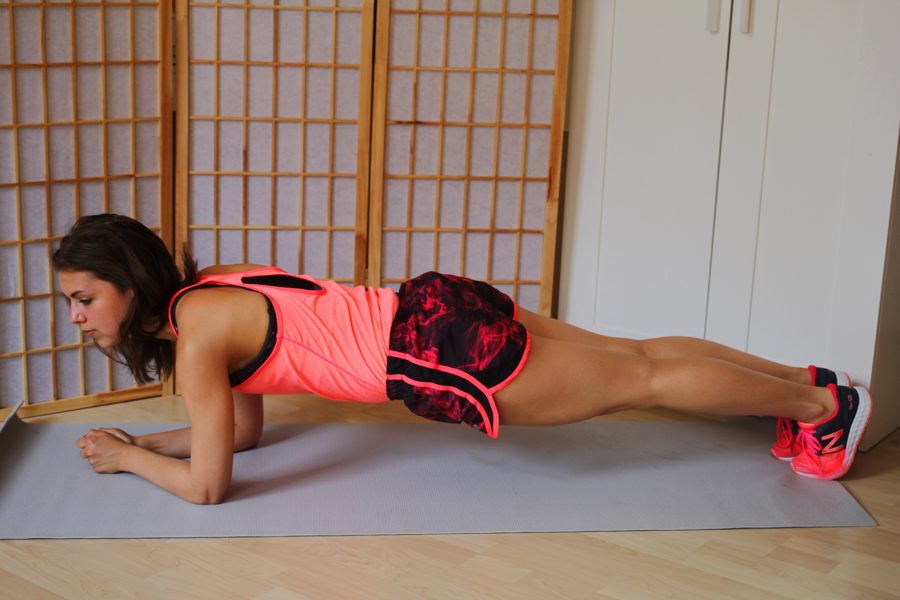 planking abs workout home