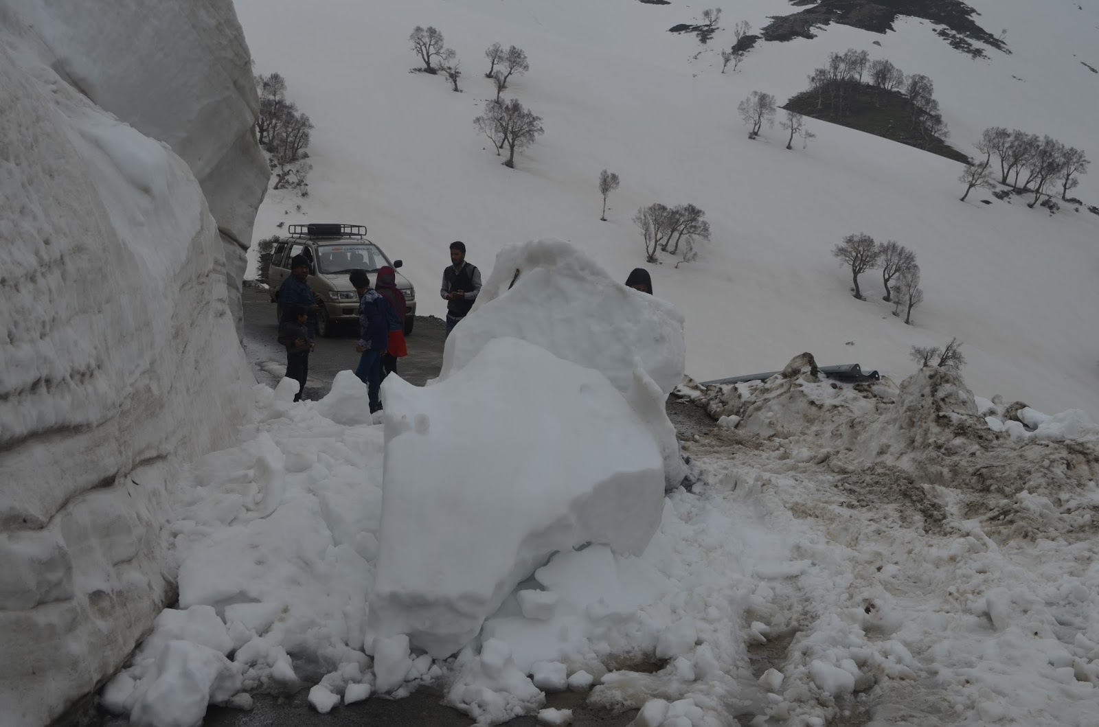 This is how Car Got Stuck