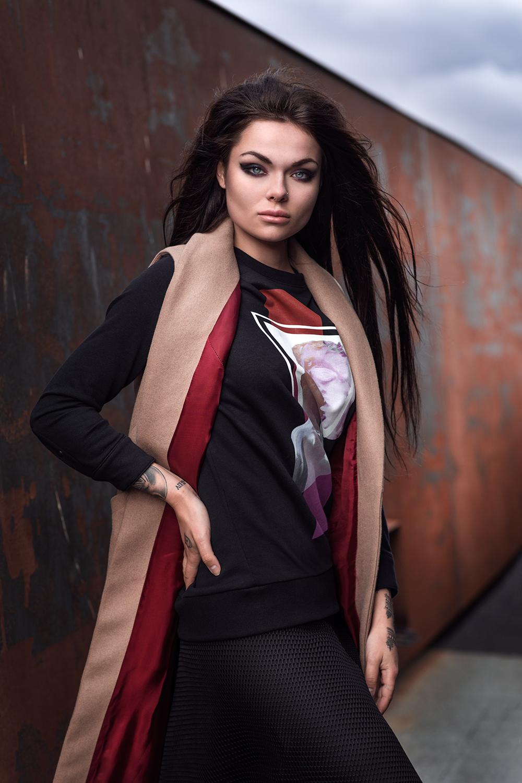 BRONK. Fashion & Art: Styling: Luxuria Astaroth by Sandra Żyłka