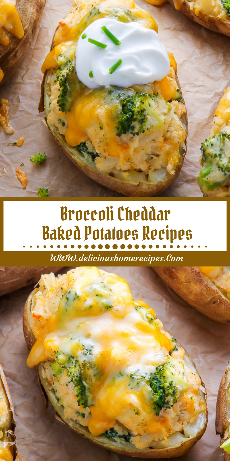 Broccoli Cheddar Baked Potatoes Recipes