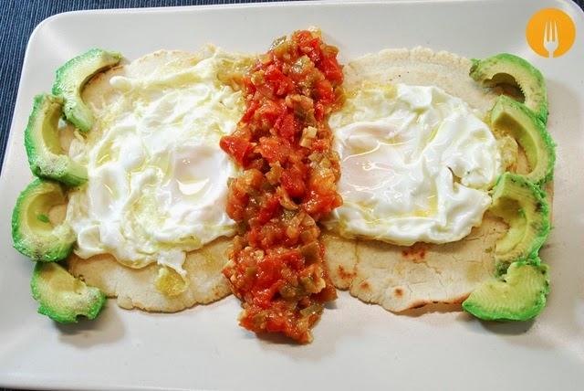 receta huevos rancheros caseros