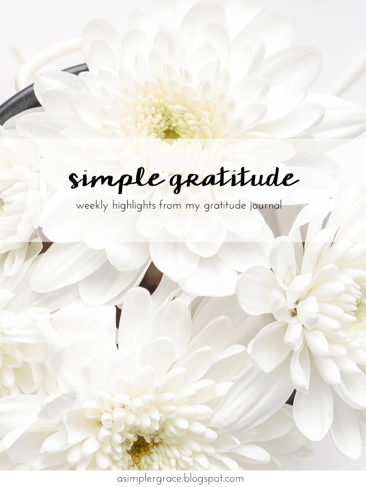 Sharing my #gratefulheart on the blog this morning with @embergrey - Simple Gratitude | 55 - A Simpler Grace