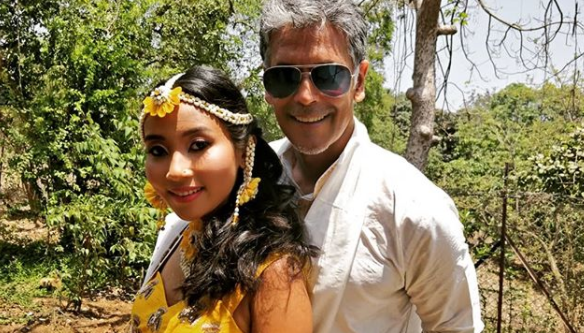 Watch:Actor Milind Soman and his girlfriend Ankita Konwar decided to tie the knot.