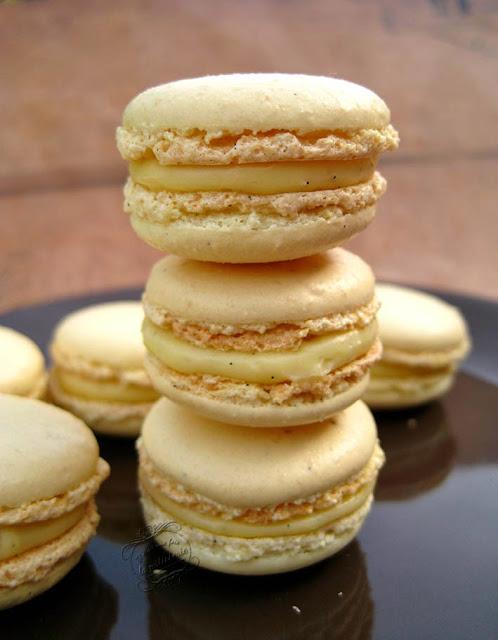 macarons meringue italienne à la vanille