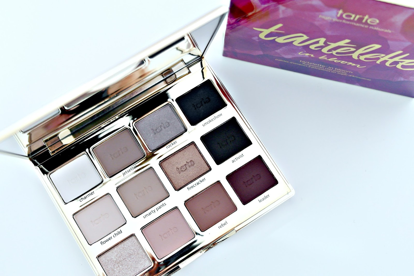 Tarte Tartelette 2 in bloom palette review