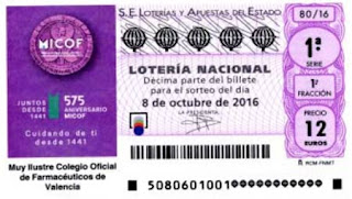 loteria nacional sorteo especial de octubre