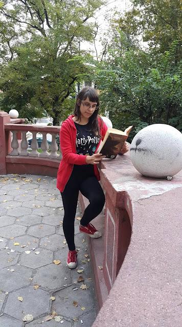 Елисавета Пенкова - фен на Хари Потър от Пловдив