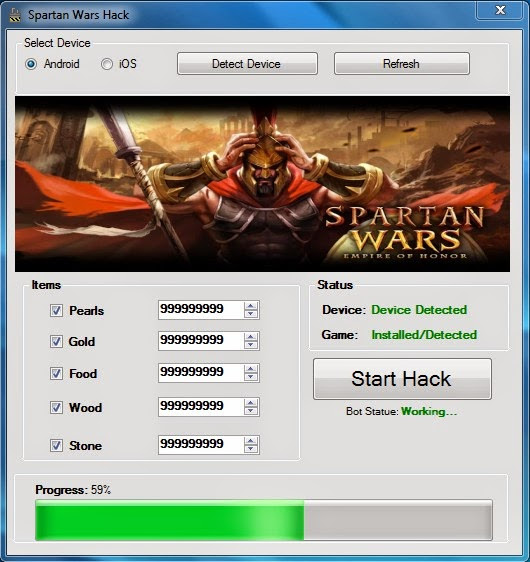 Spartan Wars Empire Of Honor Cheats